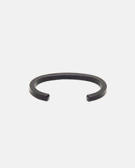 Square Bracelet - Carbon BLACK