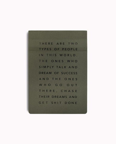 Get Shit Done Note Pad-Black