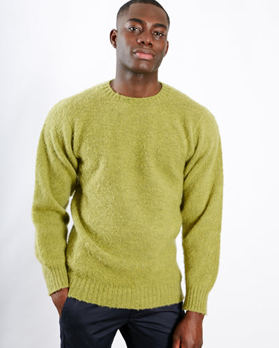 Heavy Brushed Pullover Granny Smith