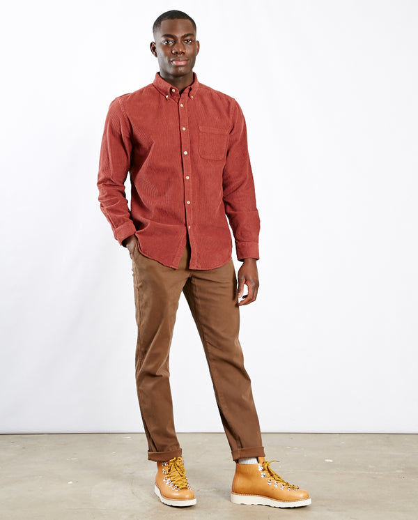 Tapered Fit Chino BROWN
