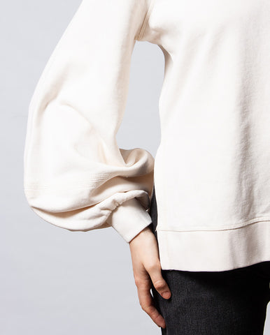 Bell Sleeve Sweat Cream
