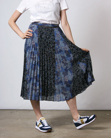 Nu Coleen Skirt Denim Blue