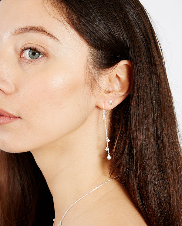 Waterdrop Earchains SILVER