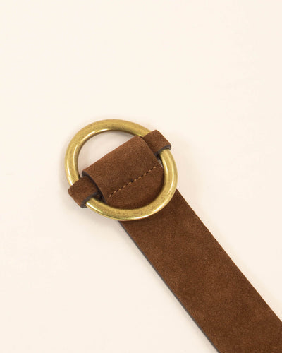 Tisao Suede Belt Coffee