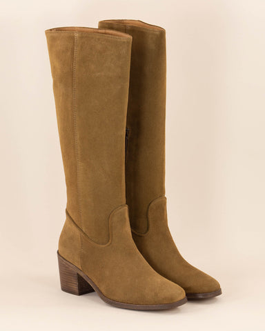 Twenty Nine Knee Boots Tobacco