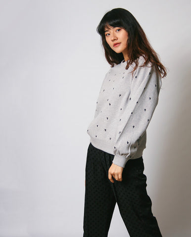 Lucy Sweater GREY HEATHER