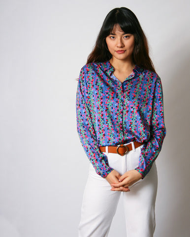 Camba Blouse Tiger Lilly Red