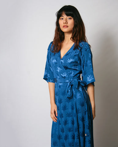 Wendy Dress Fan Blue