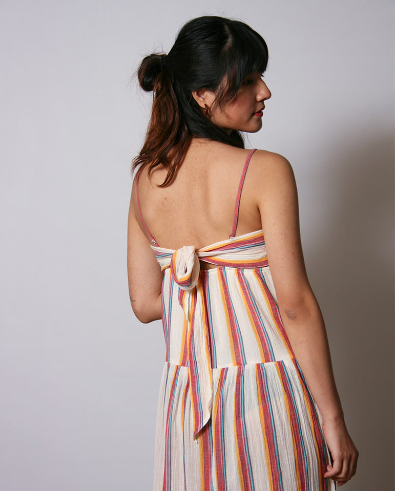 Multicolour Stripe Dress MULTI