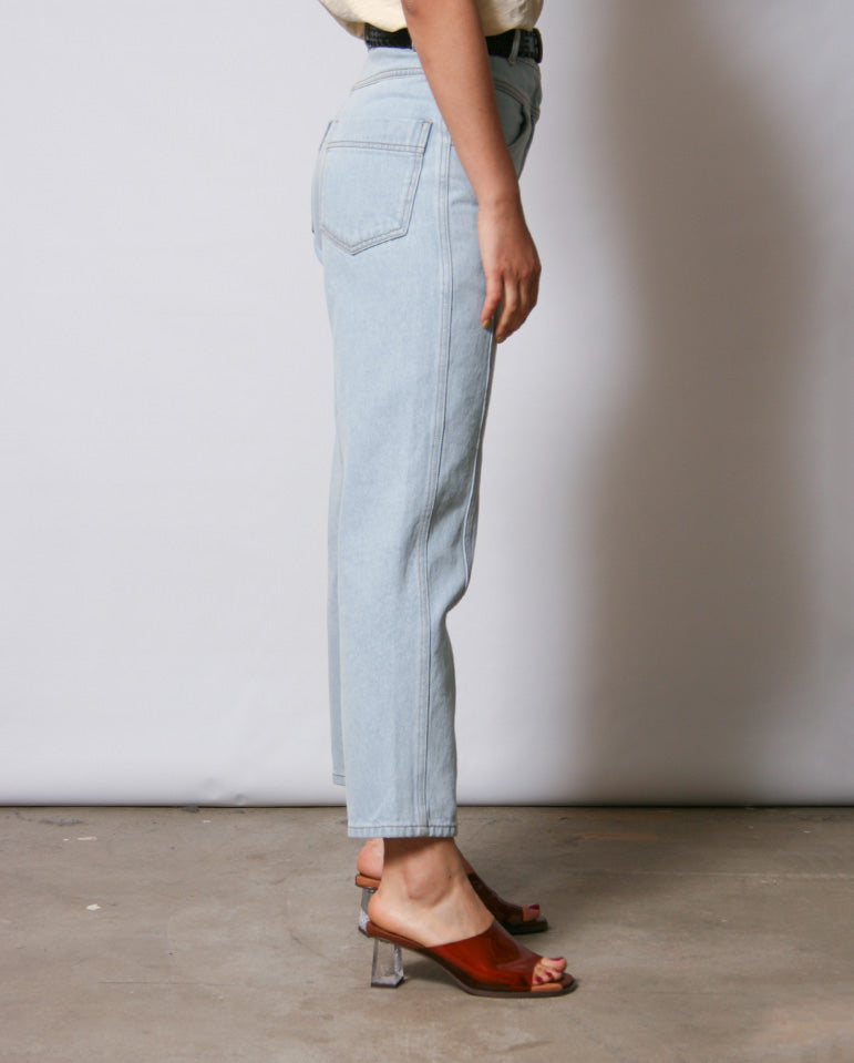 Chelsea Denim Pant Smock blue