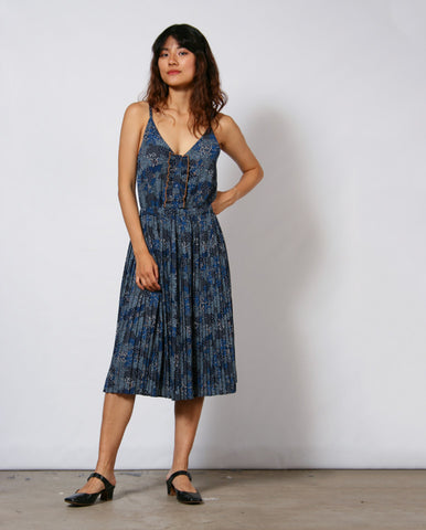 Lisbonia Dress Denim Blue