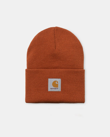 Acrylic Watch Hat Cinnamon