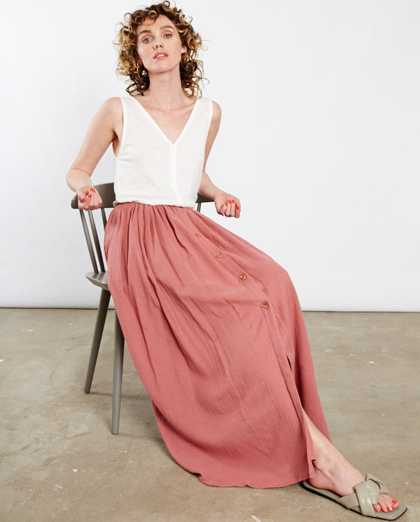 Antigua Maxi Skirt Canyon Rose