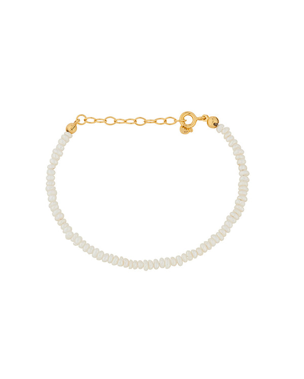 Lagoon Baroque Pearl Bracelet GOLD
