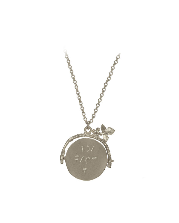 Spinning 'I Love You' Necklace SILVER