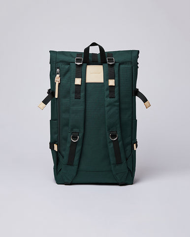 Bernet Rucksack Dark Green / Natural Leather