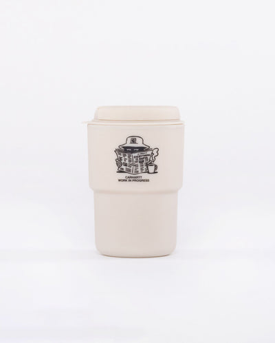 Awful Rivers Reusable Mug WHITE