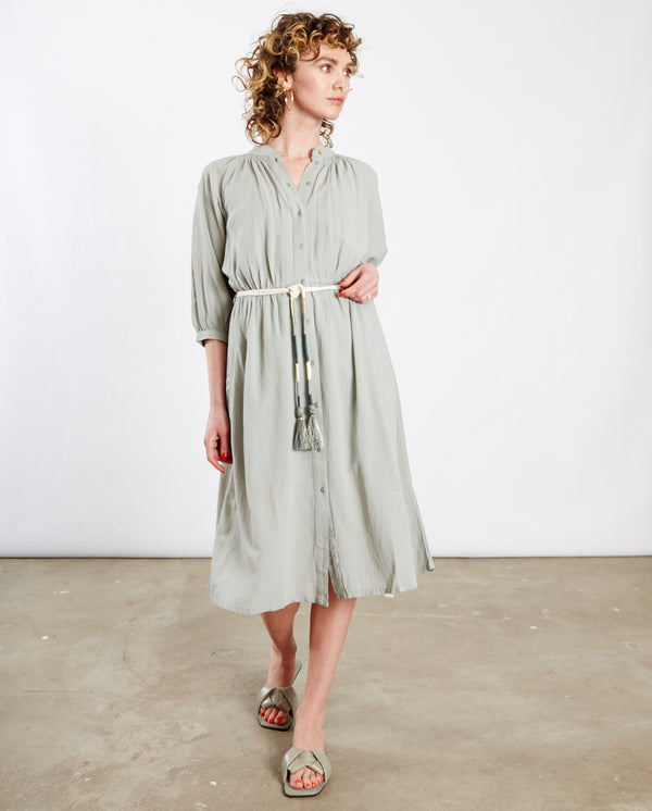 Cometa Belted Dress Cloud Sea Green