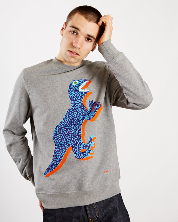 Dino sweat Grey Melange