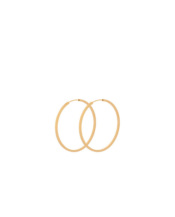 Small Orbit Hoops GOLD