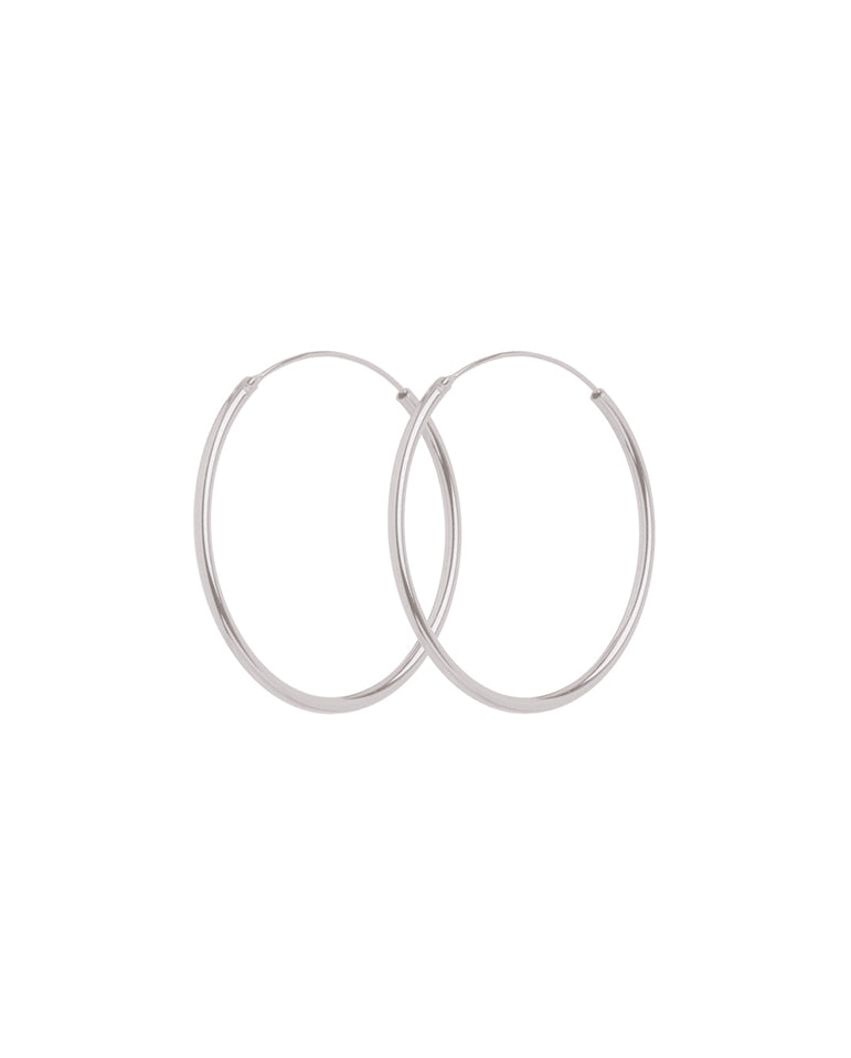 Mini Plain Hoops