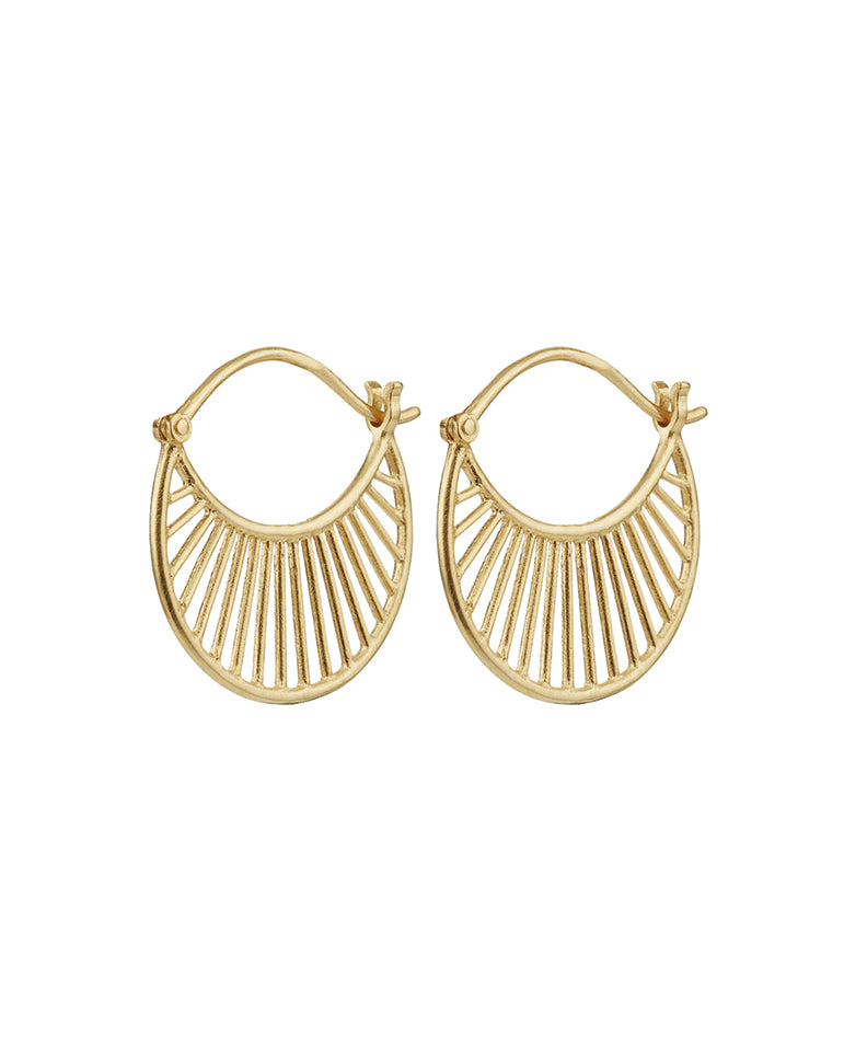 Daylight Earrings Gold