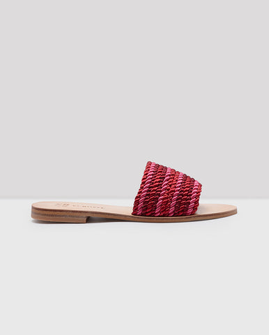 Misty Sandal Red/Pink Mix