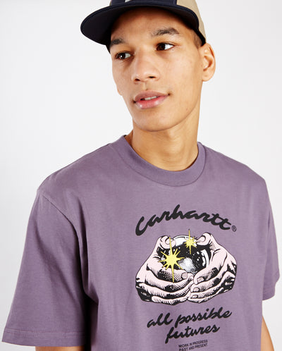 S/S Fortune T-Shirt Provence Purple