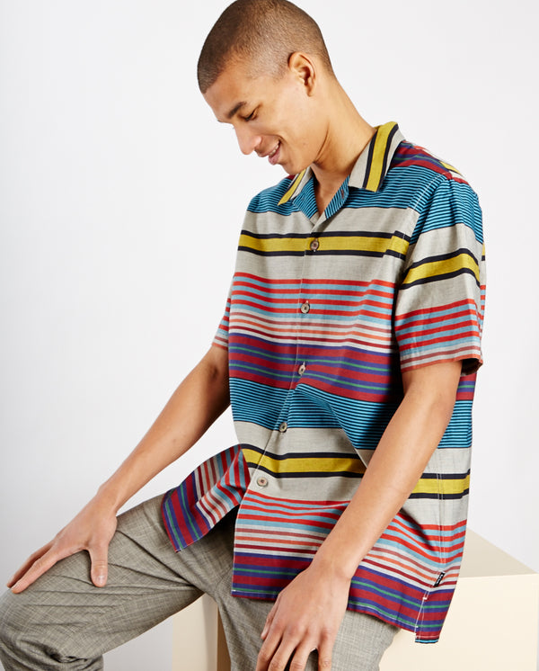 Horizontal Stripe Shirt MULTI