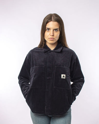 Foya Shirt Jacket Dark Navy Rinse