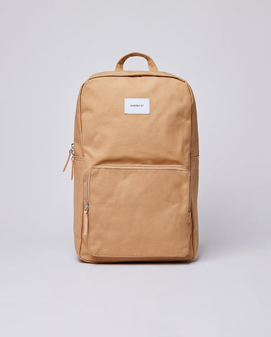 Kim Rucksack Beige / Natural Leather