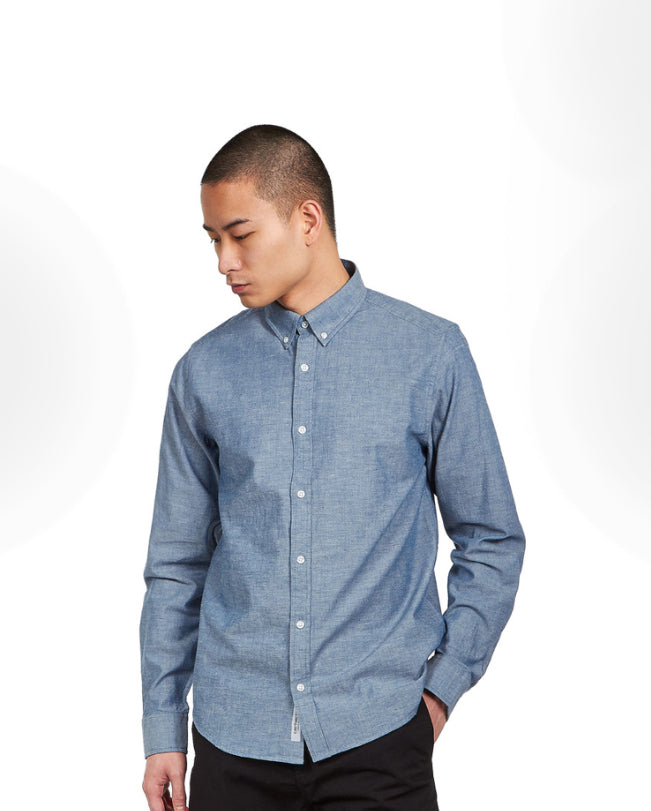 Kyoto Shirt Blue Stone Washed