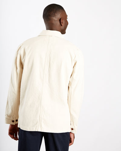 Labura Raw Denim Jacket ECRU