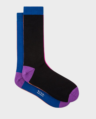 Vertical Stripe Sock