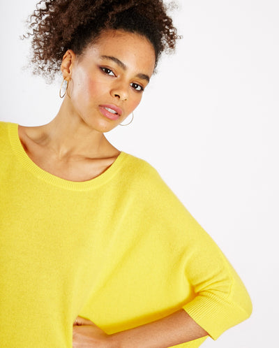 Olympe Cashmere knit Citron