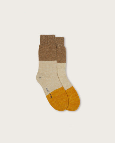 Donegal Socks Beige/Yellow