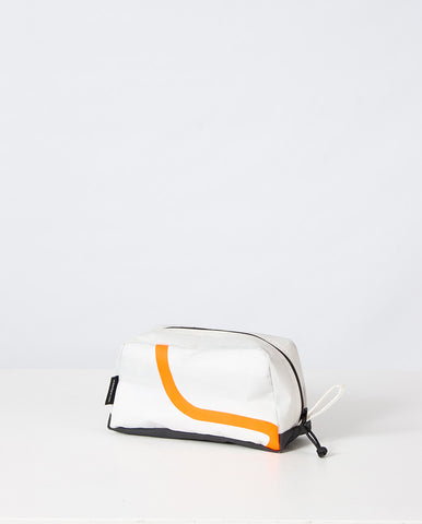 Toastie Washbag White/Orange