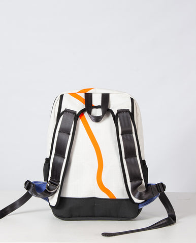 Jolla backpack White/Orange