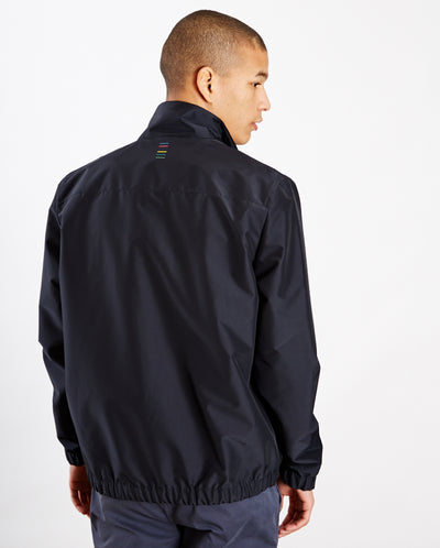 Sport Stripe Track Jacket Dark Navy