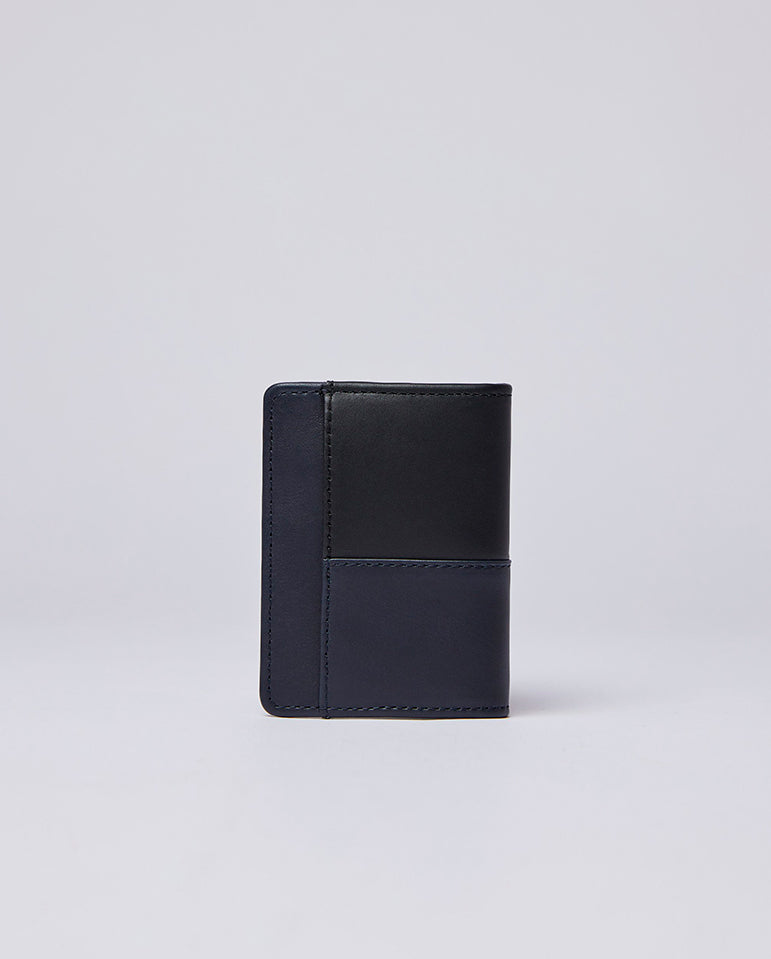 Stellan Wallet Black/Navy