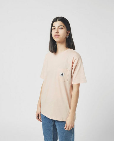 Carrie Pocket Tee Frosted Pink