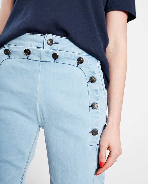 Tilly Sailor Trouser Blue Denim