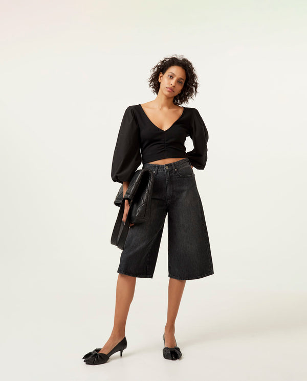 Dacy Denim Culottes