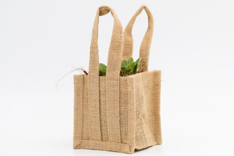 Mini Jute Bag - 10cm