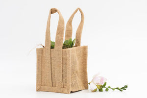 Small Jute Gift Bag -13cm