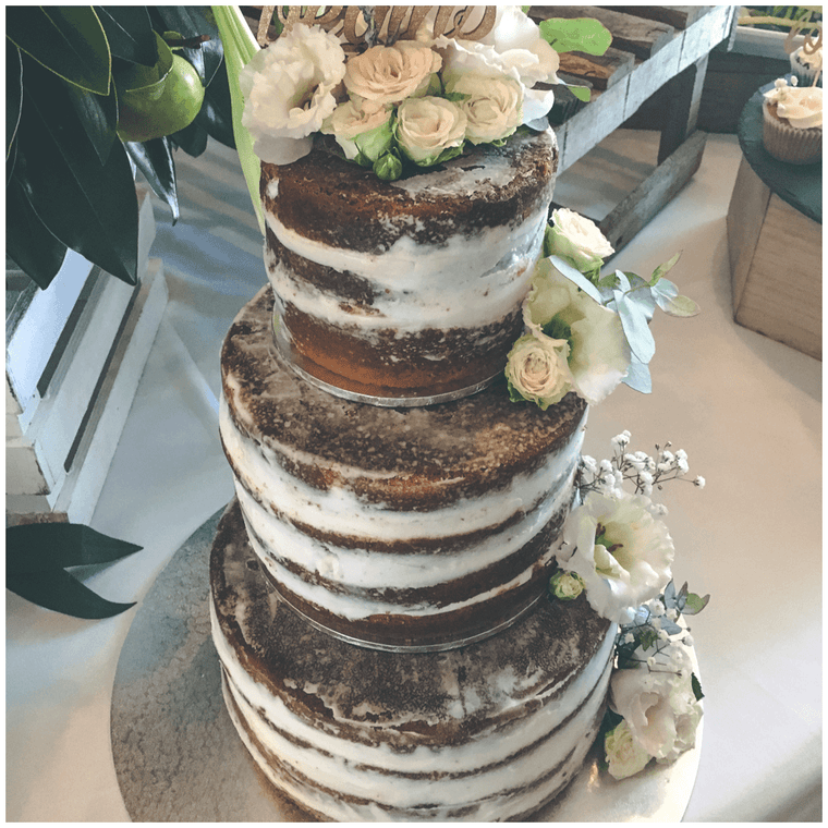 Three-tier Naked Cake Sydney