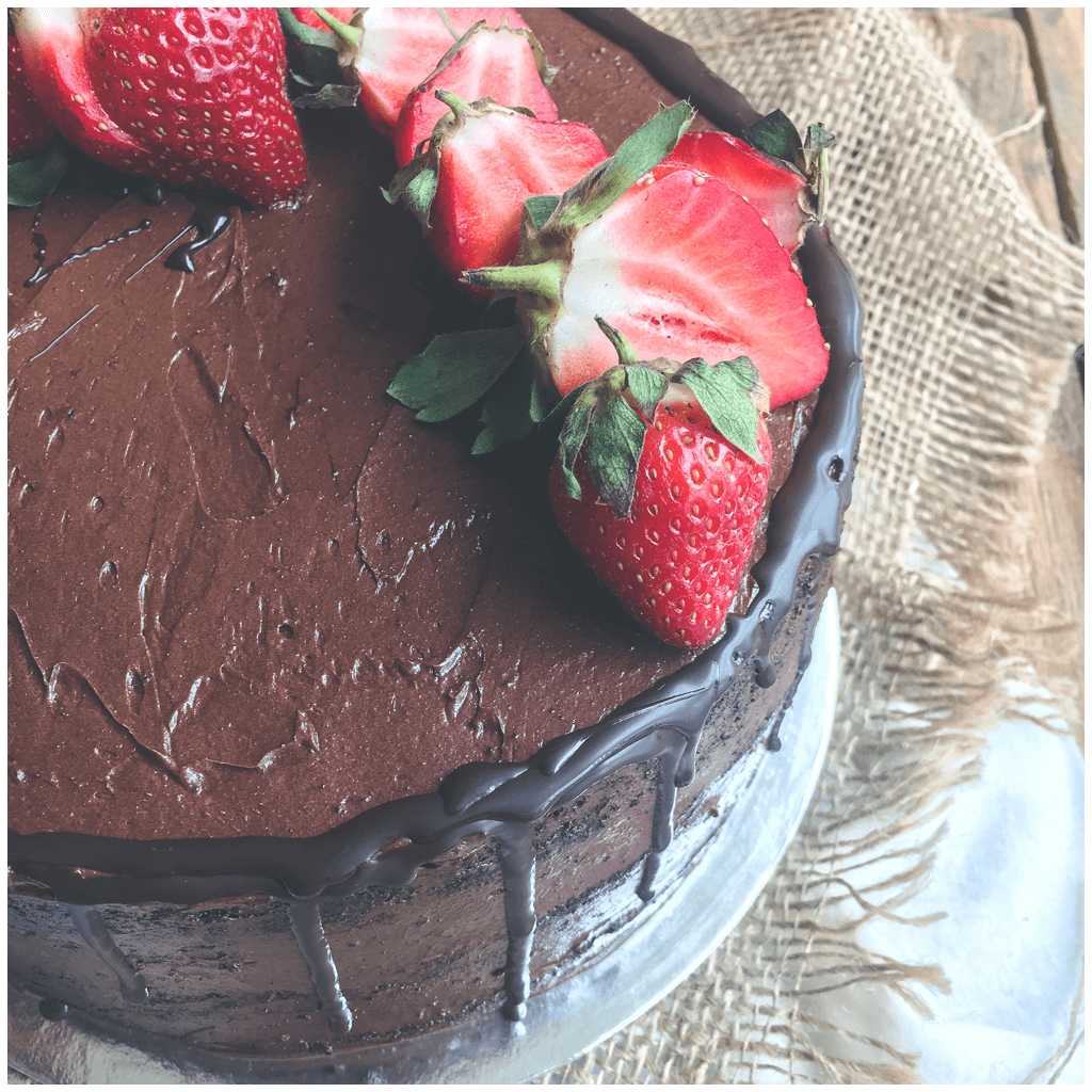 Vegan Chocolate Drip Cake Sydney Delivery