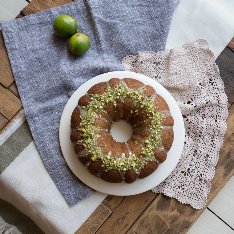 Lime and Pistachio Cake Sydney