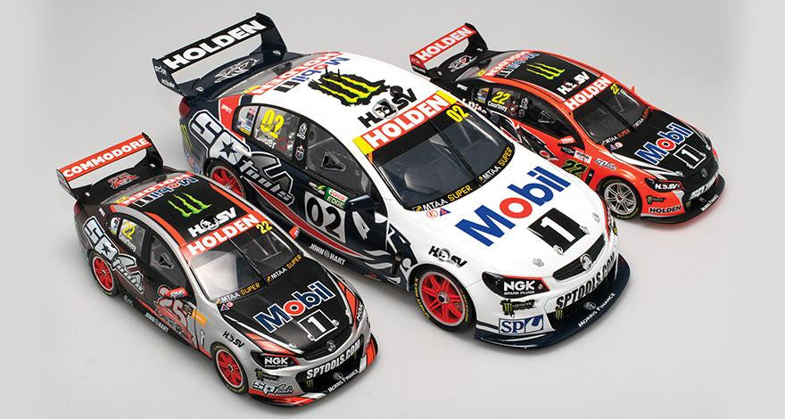 Biante 1:18 & 1:12 Holden Racing Team Announcements - May 2016