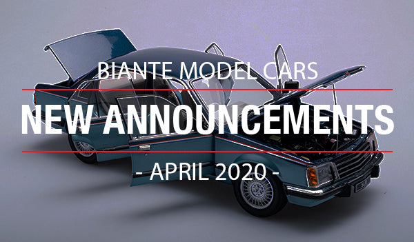 Biante New Model Announcements - April 2020
